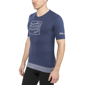 Compressport Training - Camiseta Running - azul